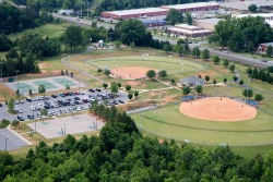 Aerial View of Bailey Road Park