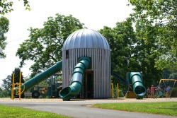 Silo Playground at Bailey Road Park