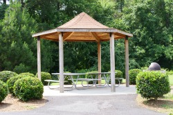 Gazebo at Glen Oak Green Park