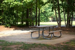 Picnic Table at Jetton Road Neighborhood Park